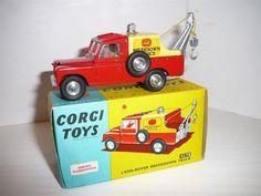 Annons+på+Tradera:+Land+Rover+Breakdown+Truck+-+Corgi+Toys+No.+417S+-+Original+Box