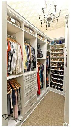 Master Closet Design, Walk In Closet Design, Master Bedroom Closet, Bathroom Closet, Closet Designs, Master Closet Layout, Custom Closet Design, Bedroom Closets, Custom Closets