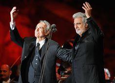 Jose Carreras and Placido Domingo