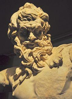 Statue of Zeus, Antalya Museum, Turkey.
