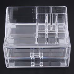 Acrylic Makeup Organizer Target Captivating Us Acrylic Cosmetic Organizer With Stackable Drawer   Beauty Review