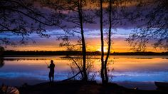 The fisherman is waiting for summer | by cbrutel