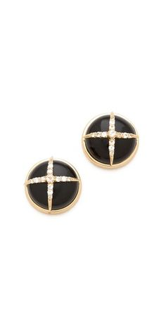 Elizabeth and James Northern Star Cabochon Earrings | SHOPBOP