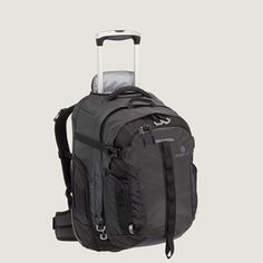 Gail's all time most versatile piece of luggage: EagleCreek Switchback 22 Carry-On