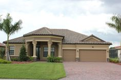 Lennar New Homes For Sale - Building Houses and Communities Tuscan Bedroom Decor, Single Storey House Plans, Exterior Paint Schemes, Colonial, Home Design Floor Plans, New Home Communities, Waterfront Homes, New Homes For Sale, Florida Home