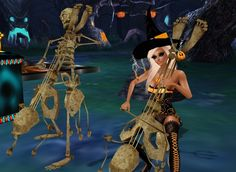 Congratulations to our 3rd place winner TurnMeOn123123. They received 10,000 IMVU credits as the prize. Come join the party and listen to some spooky music!