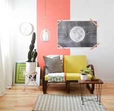 One Room, Three Looks: A Bright, Eclectic Corner