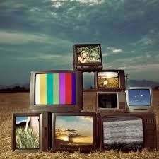 Image result for pile of tvs