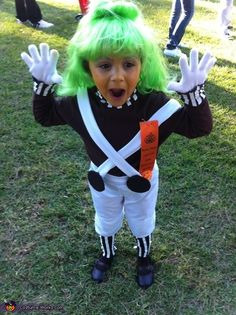 oompa loompa costume - Oompa Loompa Halloween