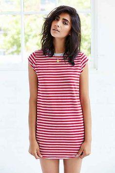 summer dress  Silence + Noise Gemma Cap-Sleeve T-Shirt Dress