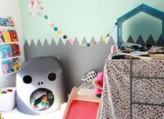 We still love this great decorated room from Finland  Weekday Carnival
