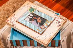 Caixa de fotos para o Dia dos Namorados