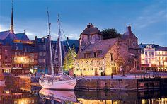 Honfleur!:  This is hands down my favorite city in France.  There are sailboats everywhere in the cute marina in the middle of the main square-
