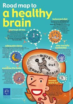 The Road Map to a Healthy Brain (Infograph)