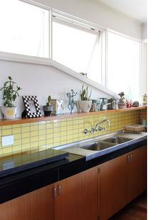 kitchen tiles color green david and lolly of codename tom yellow tilefireclay tileeclectic kitchencolor 191 best kitchens images on pinterest in 2018 kitchen dining