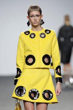 Mercedes Fashion Week Madrid: María Escoté Otoño-Invierno 2018-2019