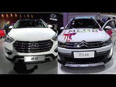 2016, 2017 Citroen C3 XR VS Hyundai Santa Fe