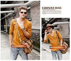Genuine-Cow-Leather-Canvas-Bag-Messenger-Bag-Canvas-Bag-Laptop-Bag-8