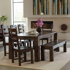 Coaster Furniture Coaster Calabasas 7 Piece Dining Table Set - COA3224