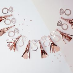 This ring tassel garland would make a lovely addition to your hen party decorations. Pick it up from partydelights.co.uk where you can browse more hen party ideas.