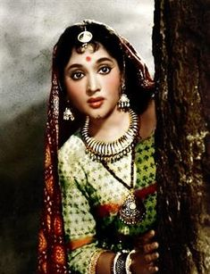 Actress, singer, and dancer Vyjayanthimala was the first South Indian actress who made it as a national star and was one of the biggest ever Hindi film female stars in a career lasting almost two decades. Bollywood Photos, Indian Bollywood, Bollywood Stars, Bollywood Celebrities, Bollywood Heroine, Beautiful Bollywood Actress, Beautiful Girl Indian, Beautiful Indian Actress, Gorgeous Women