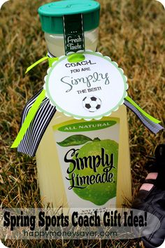 "Coach, you are ""Simply"" the BEST! What a cool gift for your kids coach."