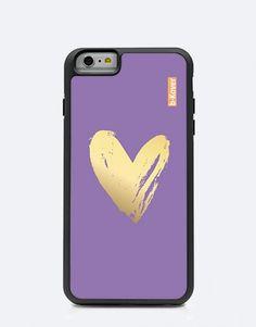 funda-heart-morado-1 Phone Cases, Mobile Cases, Lilac, Hearts, Phone Case
