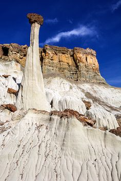 Tower Of Silence. Wahweap Hoodoos. Grand Staircase-Escalante National Monument. Big Water, Utah (pinned by haw-creek.com)