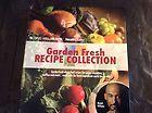 Montel Williams HealthMaster Living Well Garden Fresh Recipe Collection Cookbook