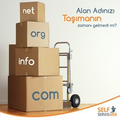 Alan Adınızı taşımanın zamanı gelmedi mi? Is this the time to move your domain name? #domain #move