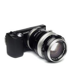 Nikon F Lens to Sony NEX Adapter
