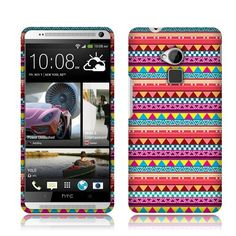Pink aztec htc phone cover
