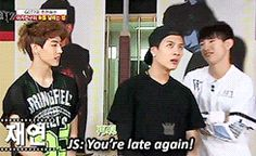 Jackson would be the gf in Markson. He's just too much of  a sass and a diva.