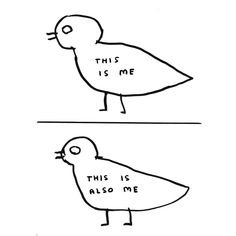 David Shrigley — Untitled (this is me), 2006