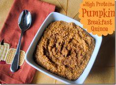 Pumpkin Breakfast Quinoa