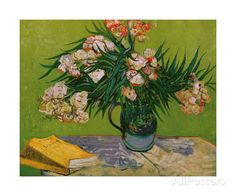 Still Life with Oleander Giclee Print by Vincent van Gogh at AllPosters.com