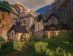 Minecraft Kingdom, Minecraft House Plans, Minecraft Cottage, Minecraft Castle, Minecraft Medieval, Cute Minecraft Houses, Minecraft Plans, Minecraft House Designs, Minecraft Survival