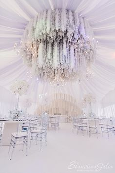 Feathers Wedding by event-designer Julia Shakirova