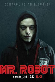 Mr. Robot : Le contrôle n'est qu'une illusion sur les affiches de la saison 2…