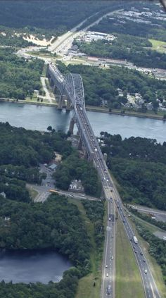Sagamore Bridge - this is where you blood pressure lowers.