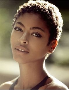 Jessi M'Bengue mode (model from Blurred lines video)  Jessika was born in southern France, her mother is French with a Muslim Algerian heritage and her father is Ivorian-Senegalese and Christian.