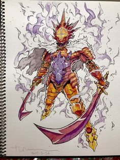 A few months ago we were talking about the French illustrator and animator Thomas Romain, based in Tokyo, who transforms his son's drawings into badass manga ch