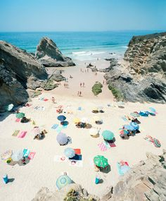 Praia Piquinia 12/08/09 14h10 | From a unique collection of color photography at…