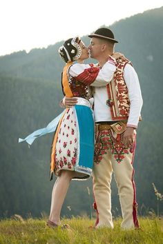 Slovakia Folk Costume, Costumes, Ethnic Dress, Traditional Dresses, The Incredibles, Culture, Dancers, Poland, Travelling