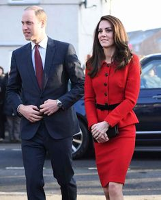 Duchess of Cambridge arrived at Mitchell Brook Primary school Photo (C) GETTY