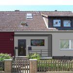 Eingang - Idee 1 2-Familienhaus in Bissendorf  Ein 2-Familienhaus – Energetische Sanierung mit einem Wärmedämmverbundsystem