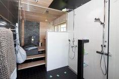 Lakka Kivitalo Kaj Stenvall - Pesuhuone ja sauna