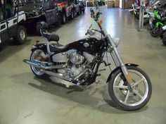 Used 2009 Harley-Davidson FXCW - Rocker Motorcycles For Sale in Nebraska,NE. 2009 Harley-Davidson FXCW - Rocker, 2009 Harley-Davidson® Rocker The Rocker offers authentic hard-tail chopper style with innovative ideas that could only be produced by Harley-Davidson®. The Rockertail rear section mounts a wide fender directly to the swing arm, just an inch over a big 240 mm x 18-inch rear tire. The Rocker rear fender and wheel move in unison as the Rockertail glides through 3.4 inches of rear…