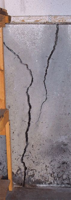 How to repair cracks, joints, or spalls in foundation walls, floors, and concrete driveways. Crack repair kits for do-it-yourselfers or contractors. Foundation Repair, House Foundation, Repair Cracked Concrete, Concrete Repair Products, Cracked Wall, Diy Exterior, Concrete Projects, Spalling Concrete, Concrete Driveways