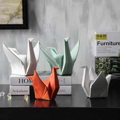 Lovely new Origami Manual craftsmanship sculpture Brief modern art prayer home decoration -in Statues & Sculptures from Home & Garden on Aliexpress.com | Alibaba Group